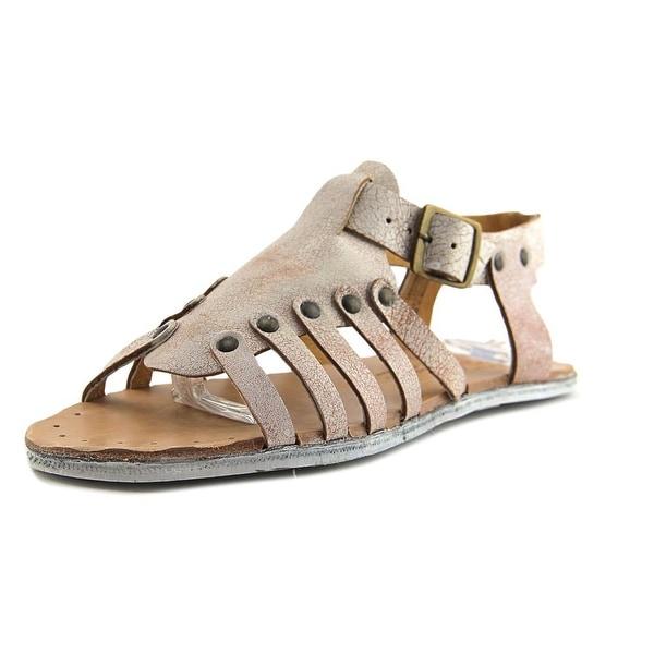 Sbicca Exist Women Open-Toe Leather White Slingback Sandal