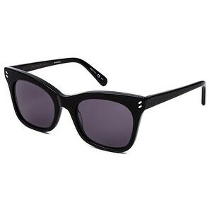 Sc0025S 001 Women'S Black Sunglasses With Grey Lenses