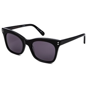 Sc0025S 001 Women'S Black Sunglasses With Grey Lenses
