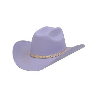 Alamo Cowboy Hat Girls Kids Princess Truman Lavender 20004