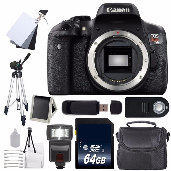 Shop Canon Eos Rebel T6i Dslr Camera Body Only 0591c001