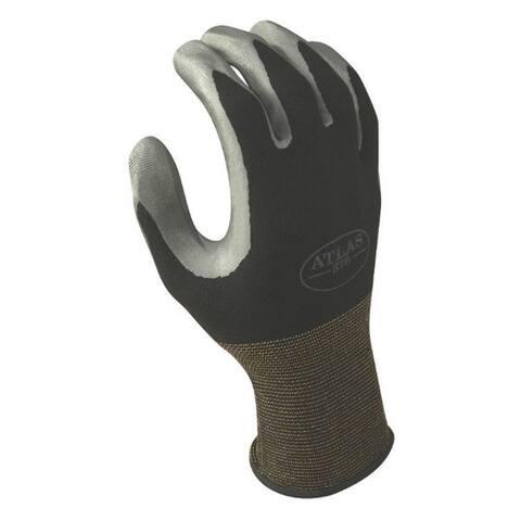 Atlas 370BXL-09.RT Nitrile Coated Nylon Glove, X-Large