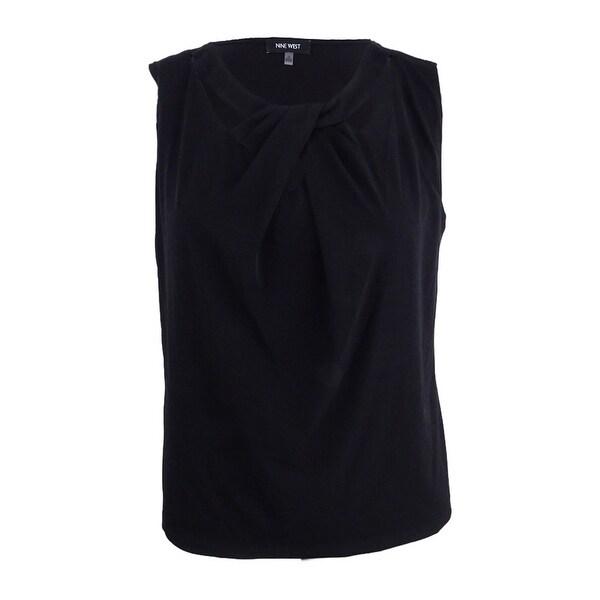 61e539045e4ae Shop Nine West Women s Plus Size Criss Cross Cami Top (1X