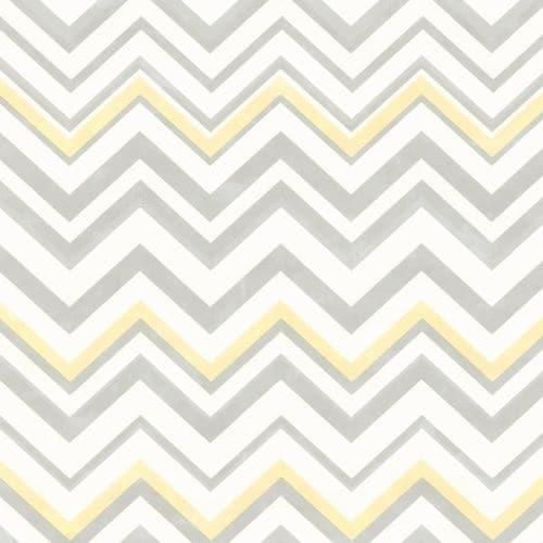 Brewster HAS47294 Susie Grey Chevron Wallpaper