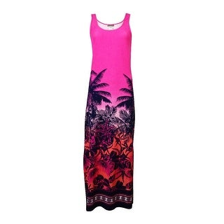 Tommy Bahama Women's Ombre Palm Print Coverup Dress - XS