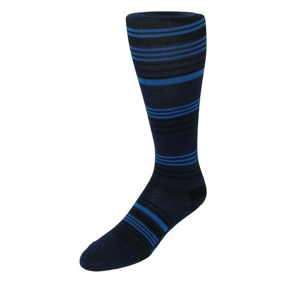 Fox River Men's Over the Calf Striped Compression Socks