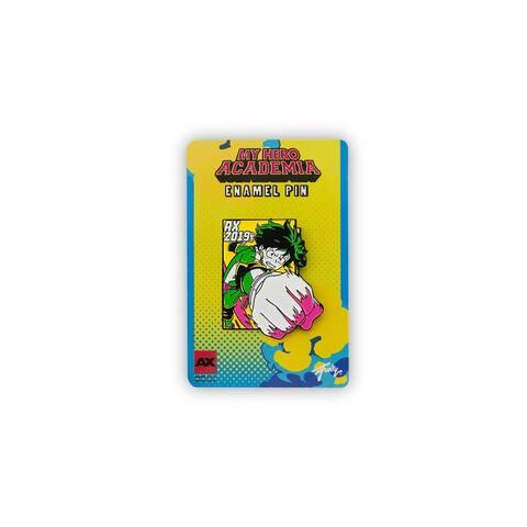 My Hero Academia Izuku Midoriya Pin Exclusive Collectible Measures 2 Inches - Multi-Colored