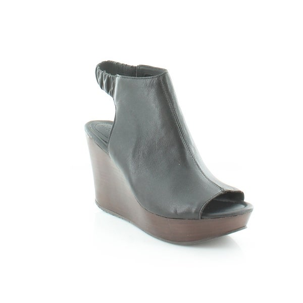Kenneth Cole Reaction SOLE CHICK Women's Sandals & Flip Flops Black - 8
