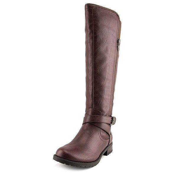 G by Guess Womens Halsey Round Toe Knee High Riding Boots