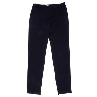 Armani Collezioni Zip Fly with Button Straight Pants Women Regular
