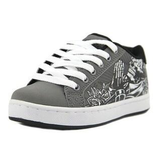 Osiris Troma Redux Youth Round Toe Synthetic Gray Skate Shoe (Option: 2)