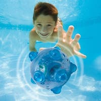 """3.25"""" Blue Battery Operated Submergency Under Water Swimming Pool Waterproof Toy"""