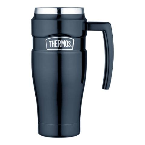 Thermos stainless steel king travel mug 16 oz sk1000mbtri4