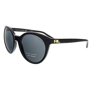 Polo Ralph Lauren RL8138 500187 Black Round Polo Ralph Lauren sunglasses
