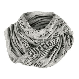 Lclub Women's Sherlock Holmes Infinity Scarf - Hound of the Baskervilles Print - One size