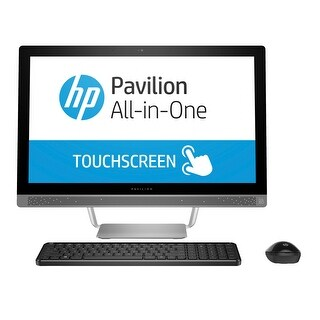 Refurbished - HP Pavilion 24-b010 23.8 Touch AlO Intel Core i5-6400T 2.2GHz 12GB 1TB HDD Win10