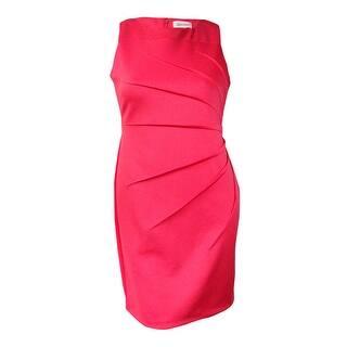 Calvin Klein Women's Sleeveless Starburst Sheath Dress (2, Watermelon) - Watermelon|https://ak1.ostkcdn.com/images/products/is/images/direct/78321584a15788c1106d160300d7c53acee5a682/Calvin-Klein-Women%27s-Sleeveless-Starburst-Sheath-Dress-%282%2C-Watermelon%29.jpg?impolicy=medium