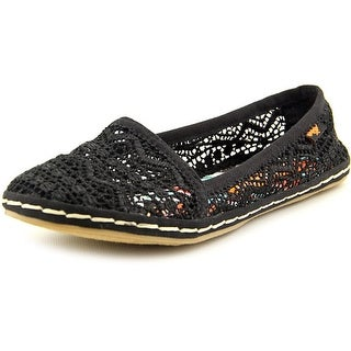 Rocket Dog Wavey Round Toe Canvas Flats