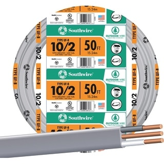 Southwire 50 10-2 Ufw/G Wire