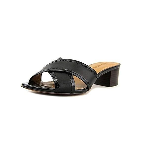 Coach Womens Murielle Slide Sandals Open Toe Block Heel