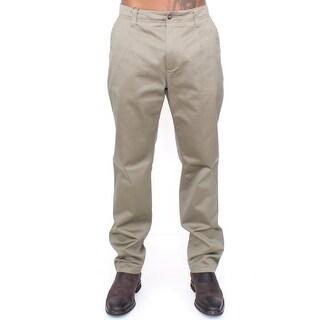 Dolce & Gabbana Dolce & Gabbana Green Cotton Slim Fit Chinos Pants - it54-xxl