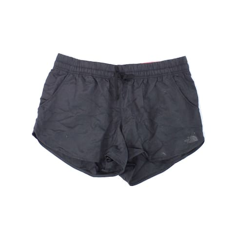 The North Face Women's Solid Black Size Large L Standard Fit Shorts