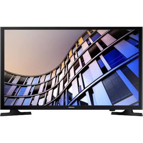 """Samsung Class M4500 (1366x768) 32"""" Smart LED HDR TV,Black (New Open Box) - Black - 28.9 x 17.3 x 3.1 Inches (Without Stand)"""