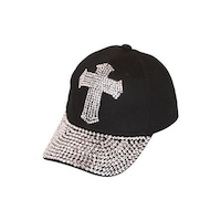 Studded Baseball Cap - Free Shipping On Orders Over  45 - Overstock ... eb2d9d62c412