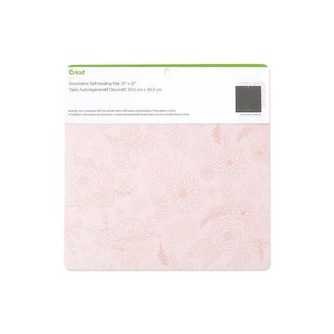 2005435 cricut self healing mat 12x12 rose