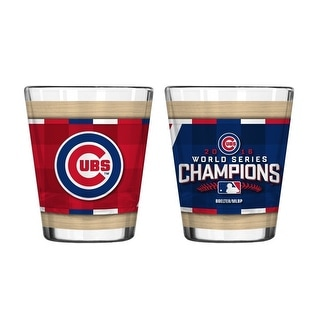 Chicago Cubs World Series Champions Shot Glass