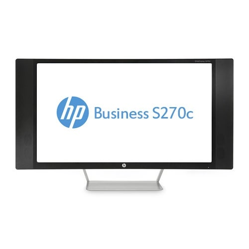 """HP Business S270c 27"""" LED LCD Monitor - 16:9 - 8 ms K1M38A8#ABA LCD Monitor"""