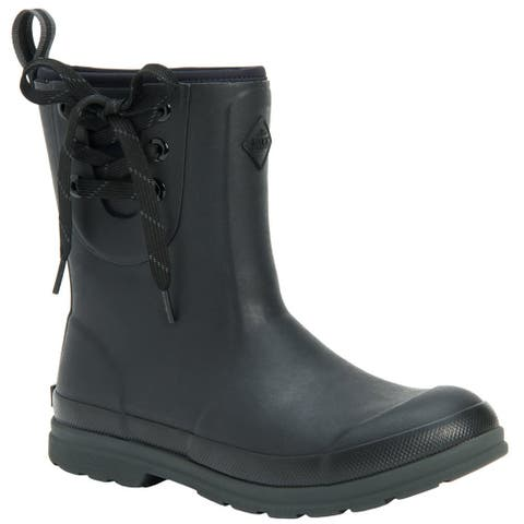 Muck Boot Muck Originals Pull On Mid Womens Boots Ankle - Black