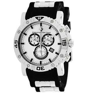 Christian Van Sant Men's Cosenza CV0515 Silver Dial Watch