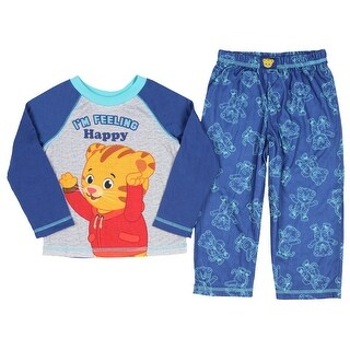 Daniel Tiger Pajamas Kids Toddler Boys I'm Feeling Happy Sleep Set