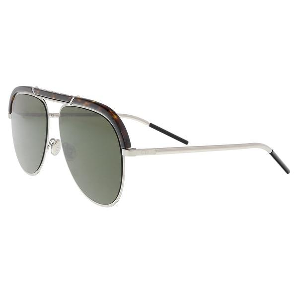 c9d17e118e Christian Dior DIORDESERTIC 09G0 Havana Palladium Aviator Sunglasses -  58-14-145