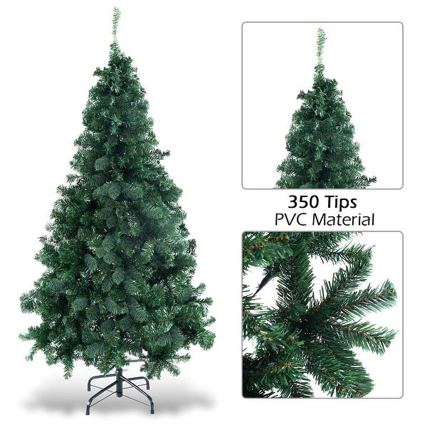 5Ft Artificial PVC Christmas Tree W//Stand Holiday Season Indoor Outdoor Green