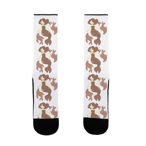 LookHUMAN Selkies US Size 7-13 Socks