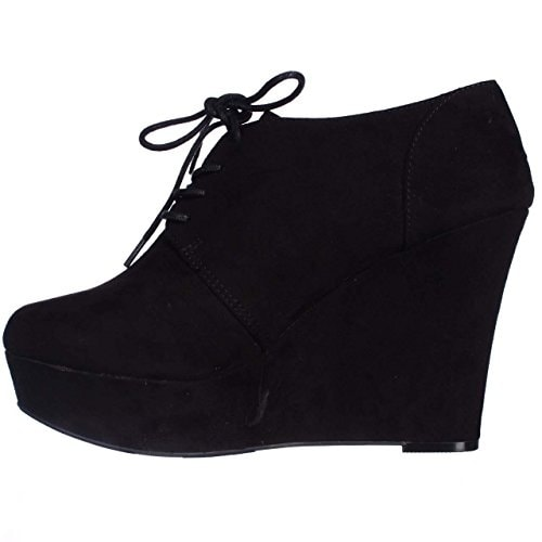 6ddaba6cf5a0 Shop Material Girl Women s Danity Wedge Ankle Boots - Free Shipping On  Orders Over  45 - Overstock.com - 14536813