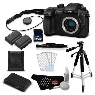Panasonic Lumix DC-GH5S Mirrorless MFT Digital Camera Intl Version + 16GB SDHC Memory Card + Battery Combo Bundle