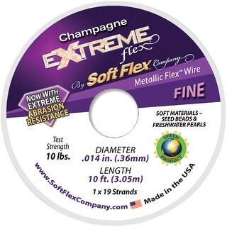 "Extreme Flex Wire 19-Strand .014""X10'-Champagne"