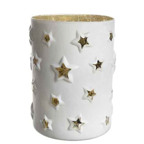 White Star Candle Holder
