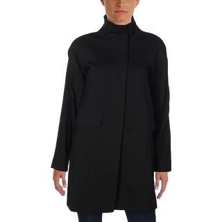 Vince Camuto Womens Petites Coat Long Sleeves Stretch