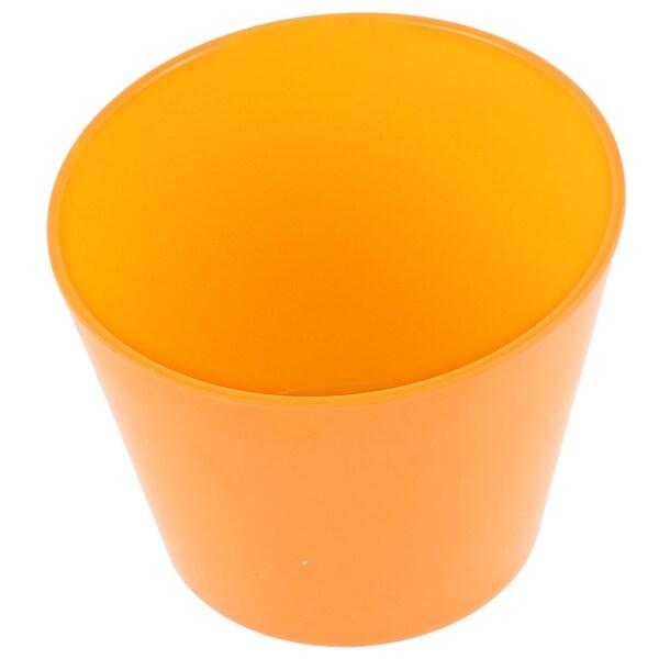 "Restaurant Dessert Soup Water Bowl Slant Cup Yellow 5.5"" Dia"