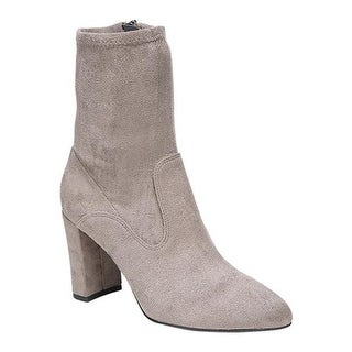 Sarto by Franco Sarto Women's Fancy Ankle Boot Nimbus Grey Faux Suede