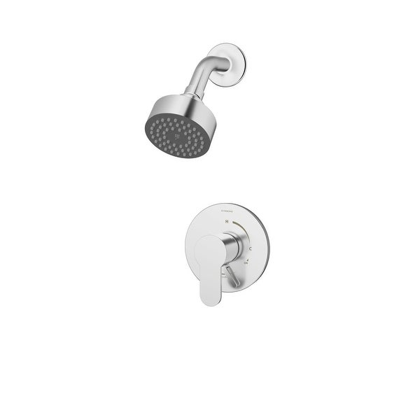 Symmons S-6701 Identity Shower Trim Package With Single-Function Shower Head and Volume Control