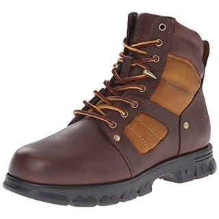 Polo Ralph Lauren Mens Diego Leather Lace-Up Ankle Boots - 7 medium (d)