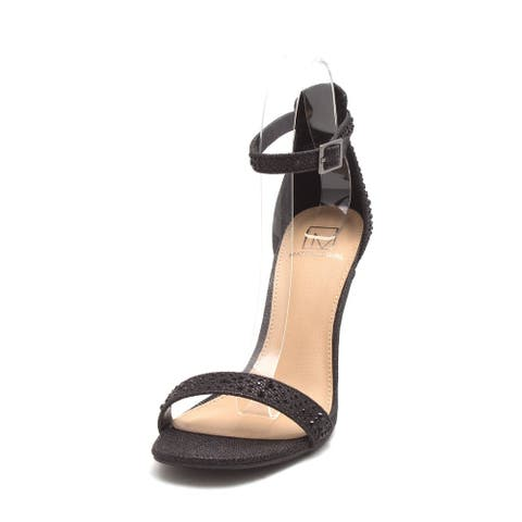 Material Girl Womens Blaire4 Open Toe Formal Espadrille Sandals