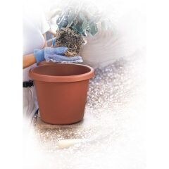 Akro-mils Classic Flower Pot Clay 12 Inch Pack Of 12 - 12012CL