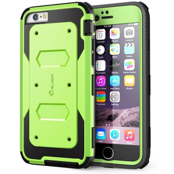 i-Blason-iphone 6 plus, Armorbox Series Dual Layer Full Body Protection Case with Screen Protector-Green