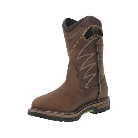 Dan Post Western Boots Mens Buzz Saw Waterproof Brown